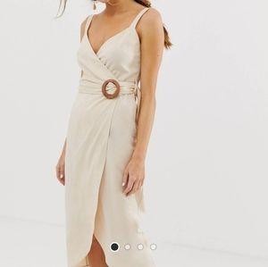 ASOS wrap maxi dress. Size 4.NWT